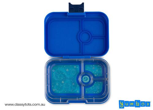 Neptune Blue - 4 compartment - Open