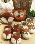Firefox & Owl Shoes (display purpose only)
