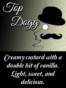 Creamy custard with a double hit of vanilla. Light, sweet, and delicious.