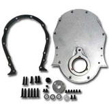 BBC Natual Billet Aluminum Timing Cover Kit
