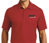 Herbert Cams Red Sport Polo-Front view