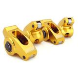 COM19001-16  1.5, 3/8 SBC Ultra-Gold Alum Rocker Arms