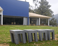 Contemporary Soapstone Table