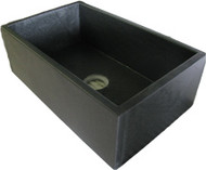 "Chicago-Wright 30"" Soapstone Sink"