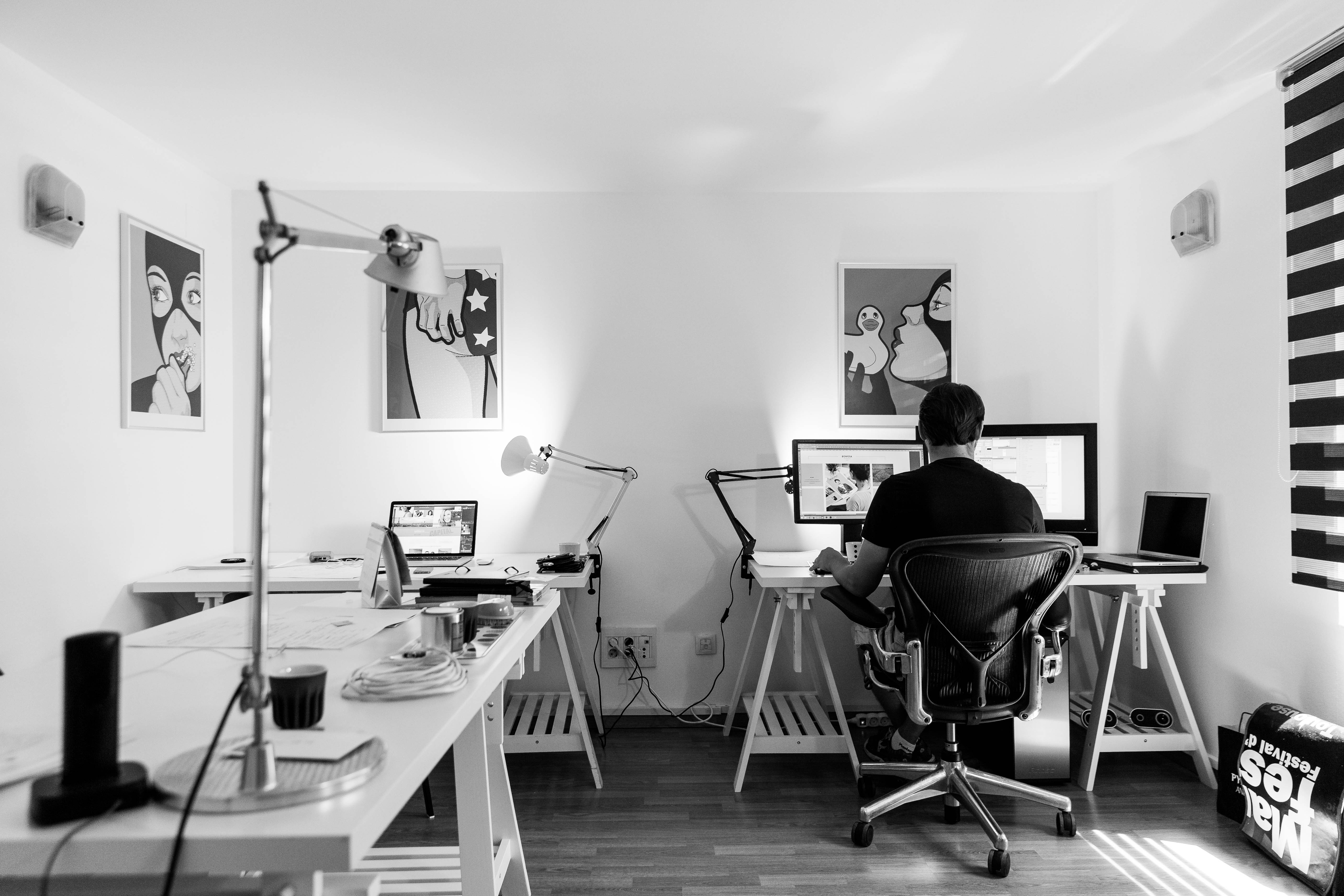 black and white office. Interesting White And Black Office Gallery - Best Inspiration Home .