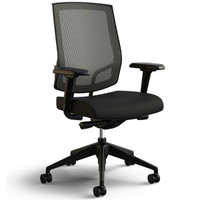 Sit On It Focus Chair * High Back * Mesh Back * Polished Aluminum Base * Enhanced Synchro Tilt Control * Fully Adjustable Arms * Adjustable Lumbar Support * Adjustable Seat Depth * Available In Various Colors And Upholstery Options * Ergonomic Features Selected Will Affect Price