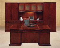 DMI Del Mar Veneer Transitional Desk System