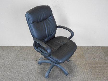 Ergo Faux Leather Executive Chair