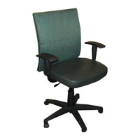 Steelcase Turnstone Series Green Back And Seat Task Chair