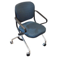 Nienkamper Nesting Folding Chair With Stainless Steel Legs