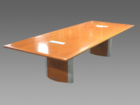 10' Nienkamper Conference Table W/ Data