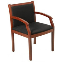 Express Wood Frame Guest Chair