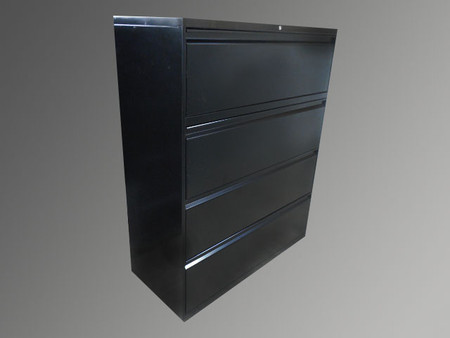Allsteel 4 Drawer Lateral file