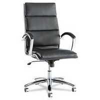 Alera Neratoli High Back Swivel Tilt Conference Chair, Black