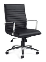Global Segmented Luxhide Executive Conference Chair