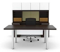 Cherryman Verde Series Modern Desk Set