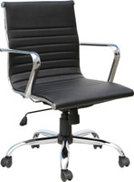 Express black Vinyl Segmented Executive Conference Chair