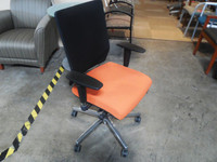 Cherryman Ambarella Task Chair with Barbadine Persimmon Seat