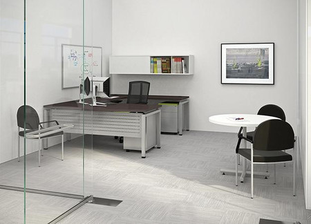 image 1 - Clear Desk Chair