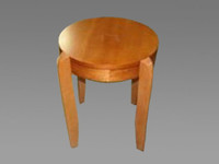 OFS Cherry Veneer End Table