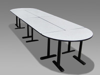 14' Segmented Conference Table