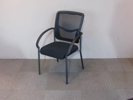 OFS Mesh Guest Chair, Black