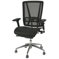 Express Black Mesh Back Multi-Function Office Chair