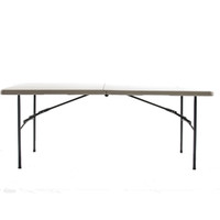 "Grey 30"" x 72"" Fold Up Table"