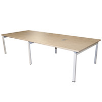 Clear Design 10' Blade Series Conference Table