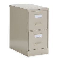 "Global 2 Drawer 25"" Deep Vertical File Cabinet"