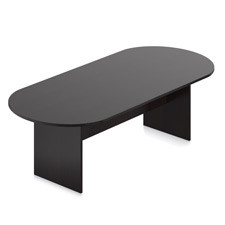 Offices to Go Epsresso 8' Conference Boardroom Racetrack Table