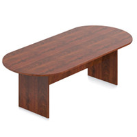 Offices to Go Dark Cherry 8' Conference Table