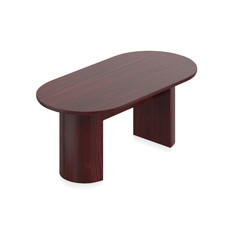 """Offices to Go 72"""" Cordovan Racetrack Conference Table"""