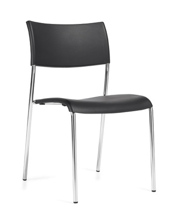 Offices to Go Modern Armless Stackable Guest Chair