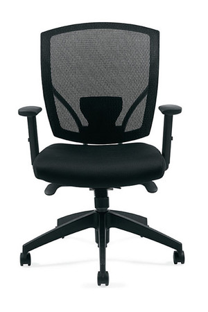 Offices to Go Mid Back Mesh Synchro Tilter Office Chair