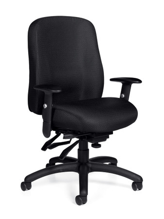 Offices To Go Multi-Function Chair with Adjustable Arms