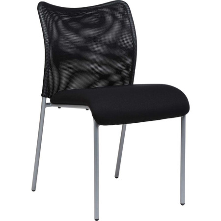Black Mesh Back Guest Chair