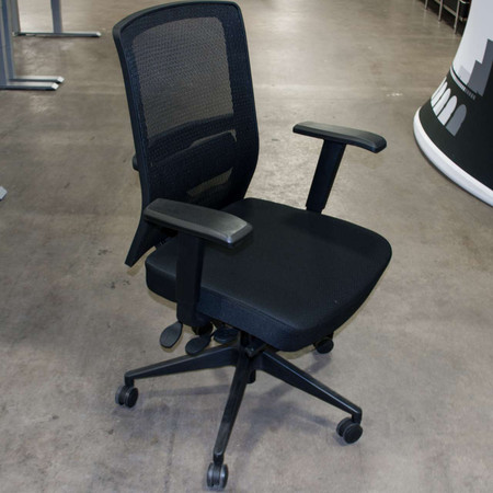 High Back Black Mesh Back Office Chair