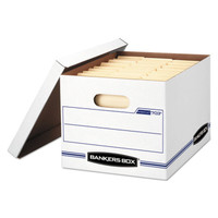 Bankers Box Letter/Legal File Storage Box, 12 Per Carton