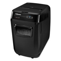 Fellowes AutoMax 200C Auto Feed Medium-Duty Cross-Cut Shredder
