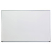 "Satin-Finished Aluminum 36"" x 24"" Frame Dry Erase Board"