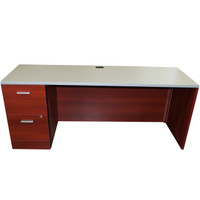 "Global Zira Series 24"" x 72"" Desk"