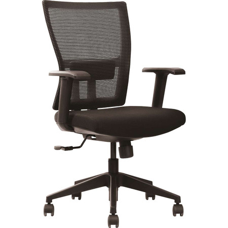 Express HU Series Adjustable Black Mesh Back Task Chair