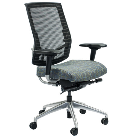 SitOnIt Focus Sport Series High-Back Mesh Task Chair