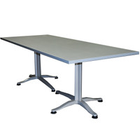 "Global Grey Laminate 36"" x 90"" Table"