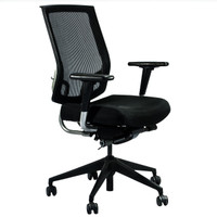 SitOnIt Focus Series Black Mesh Back Multi-Function Task Chair