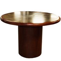 """42"""" Custom Round Cherry Conference Table"""
