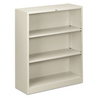 "Hon 40"" Metal Three Open Shelf Storage Cabinet"
