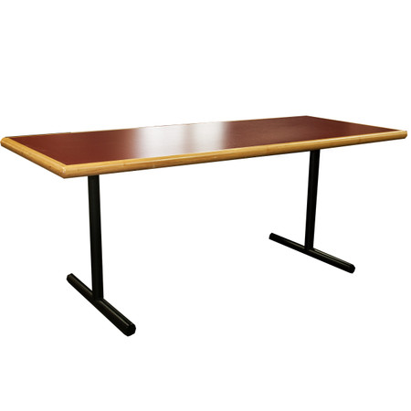 Versteel Training Tables. 30×72 Folding Training Tables with Fold Down Modesty Panel and Grommets. Perfect For Classroom style or collaborative meeting space