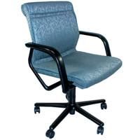 Steelcase Vecta Series Teal Fabric Office Chair